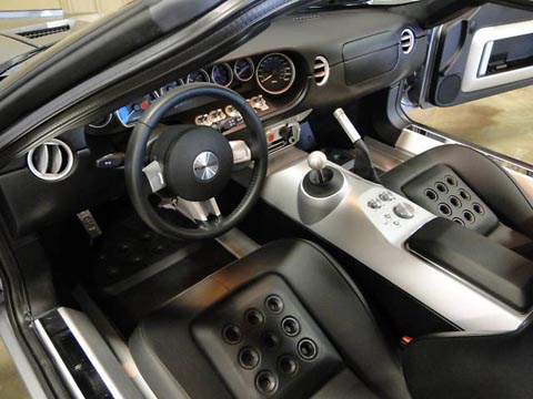 2006 Ford GT steering wheel