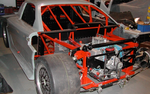 1999 Pratt and Miller Racing, SCCA Trans Am Road Racing Series Chassis #003 engine