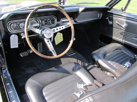 1966 Shelby GT350 Hertz steering wheel