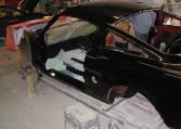 1966 Shelby GT350 black driver door