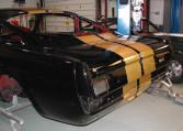 1966 Shelby GT350 black rear