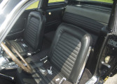 1966 Shelby GT350 black front seats