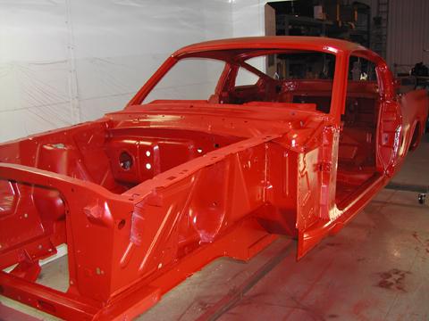 1966 Shelby GT350 black body