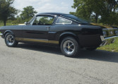 1966 Shelby GT350 black driver side