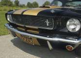 1966 Shelby GT350 black front grille