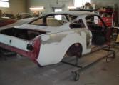 1966 Shelby GT350 black passenger side