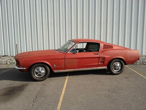 1967 Ford Mustang Fastback sold by Fix Motorsports