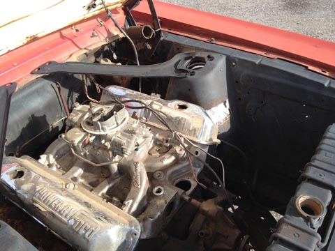 1967 Ford Mustang Fastback engine