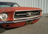 1967 Ford Mustang Fastback front grille