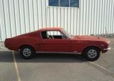 1967 Ford Mustang Fastback passenger side