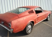 1967 Ford Mustang Fastback rear