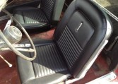1967 Ford Mustang Fastback driver seat