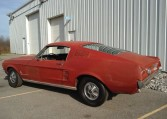 1967 Ford Mustang Fastback driver side