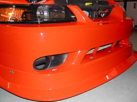 2000 Ford Mustang Cobra R front grille