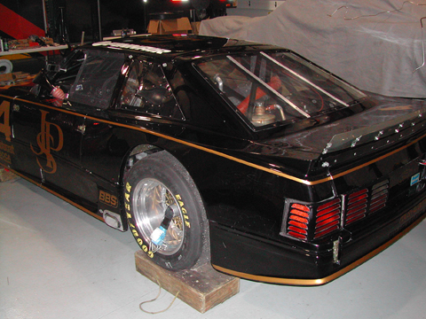 1989 Roush Racing, SCCA Trans Am Road Racing Series Chassis #009 driver side