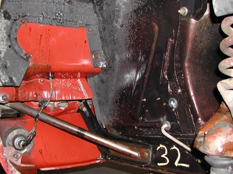 1966 Ford Mustang Survivor engine