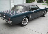 1965 Ford Mustang Convertible passenger side