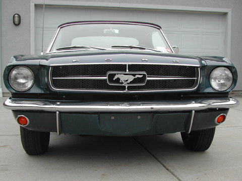 1965 Ford Mustang Convertible front grille