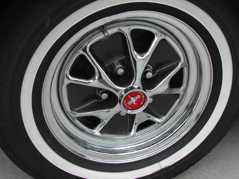 1965 Ford Mustang Convertible tire