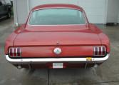 1966 Ford Mustang Survivor taillights