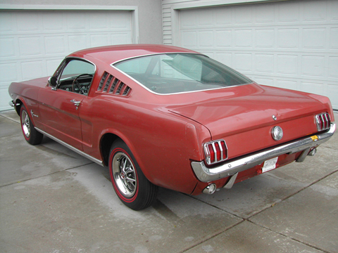 1966 Ford Mustang Survivor rear