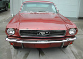1966 Ford Mustang Survivor front grille