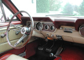1966 Ford Mustang Survivor steering wheel