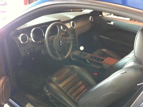 2008 Shelby GT500 KR interior