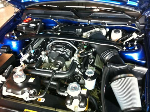 2008 Shelby GT500 KR engine