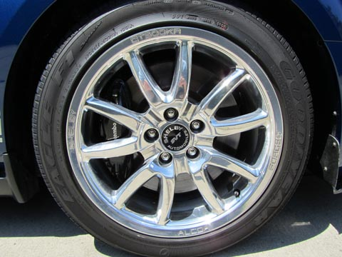 2008 Shelby GT500 KR tire