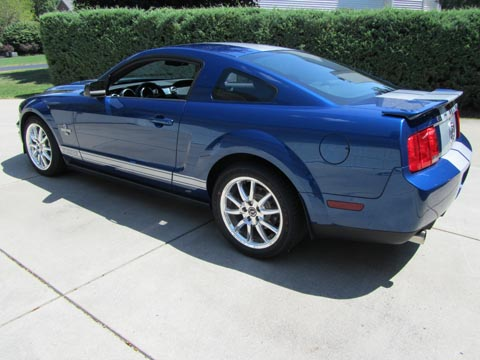 2008 Shelby GT500 KR driver side