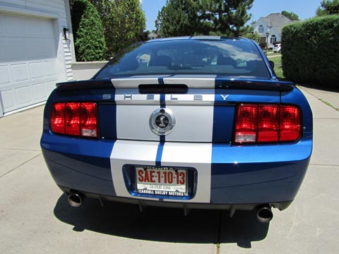 2008 Shelby GT500 KR taillights
