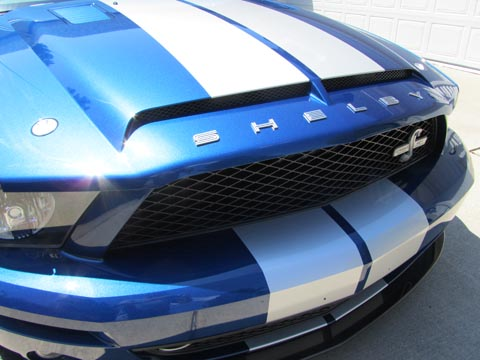 2008 Shelby GT500 KR front grille