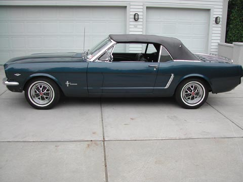 1965 Ford Mustang Convertible driver side
