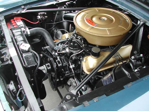 1965 Ford Mustang Convertible engine