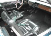 1965 Ford Mustang Convertible interior