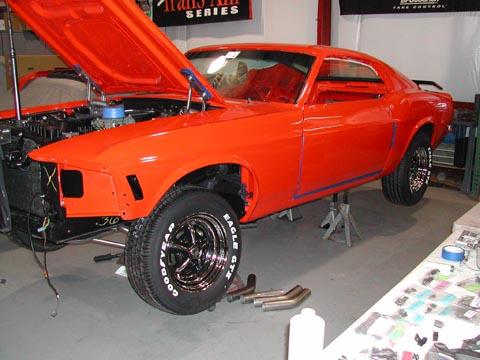 1970 Ford Mustang Boss 302 hood