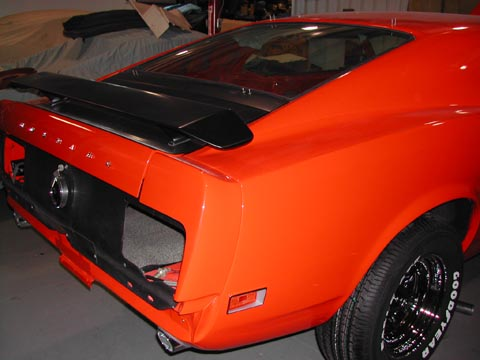 1970 Ford Mustang Boss 302 taillights