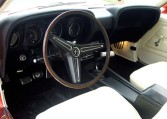 1970 Ford Mustang Boss 302 steering wheel