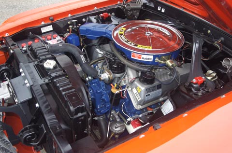 1970 Ford Mustang Boss 302 engine