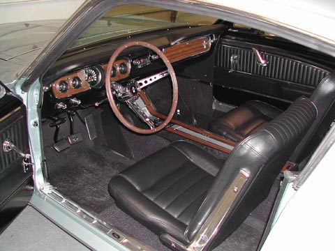 1965 Ford Mustang GT Fastback driver door