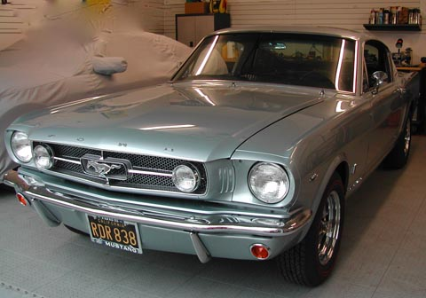 1965 Ford Mustang GT Fastback front