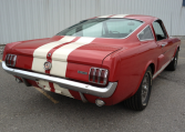 1966 Shelby GT350 taillights