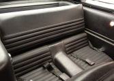 1966 Shelby GT350 backseats