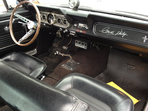 1966 Shelby GT350 front seats