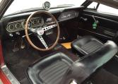 1966 Shelby GT350 steering wheel