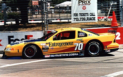 1999 Pratt and Miller Racing, SCCA Trans Am Road Racing Series Chassis #003 on the track