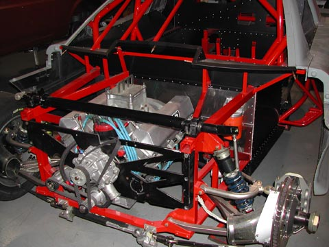 1999 Pratt and Miller Racing, SCCA Trans Am Road Racing Series Chassis #003 shell