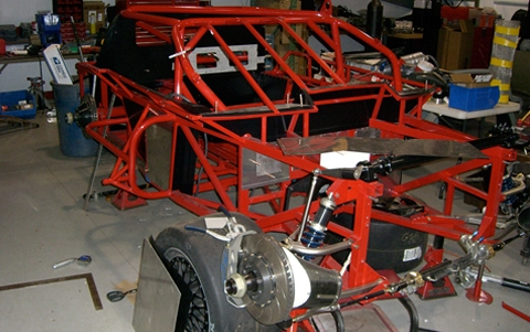 1999 Pratt and Miller Racing, SCCA Trans Am Road Racing Series Chassis #003 shell cage