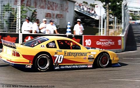 1999 Pratt and Miller Racing, SCCA Trans Am Road Racing Series Chassis #003 racing